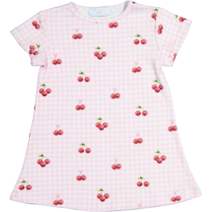 Cherry on Top A-Line Dress - Posh Tots Children's Boutique