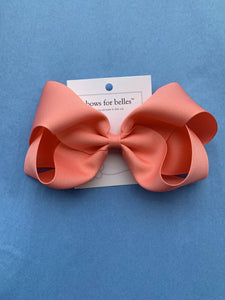 Large Grosgrain Hair Bow - Posh Tots Children's Boutique