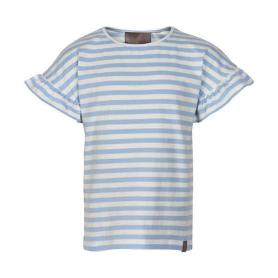 Blue White Stripe T-Shirt - Posh Tots Children's Boutique