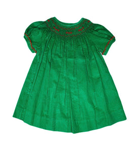 Geometric Smocked Bishop Dress - Posh Tots Children's Boutique