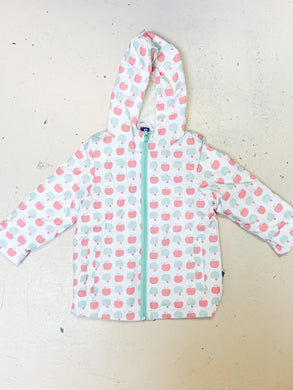 Sherpa-Lined Raincoat - Natural Apples - Posh Tots Children's Boutique
