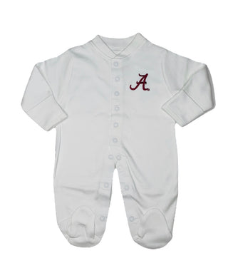 Alabama Footed Onesie - Posh Tots Children's Boutique