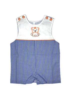 Orange Tiger Shortall
