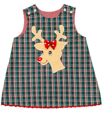 Reindeer Reversible Jumper - Posh Tots Children's Boutique