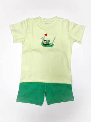 Golf Short Set - Posh Tots Children's Boutique