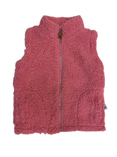Sherpa Vest - Pink - Posh Tots Children's Boutique
