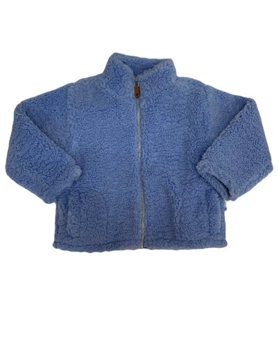 Sherpa Jacket - Blue - Posh Tots Children's Boutique