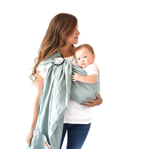 Ring Sling in Willow - Posh Tots Children's Boutique