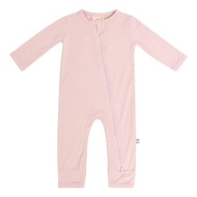 Load image into Gallery viewer, Zippered Romper in Blush - Posh Tots Children's Boutique
