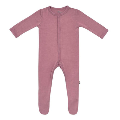 Snap Footie in Mulberry - Posh Tots Children's Boutique