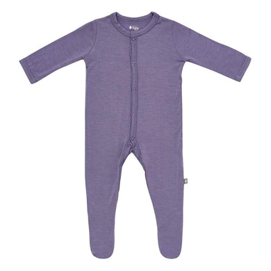 Snap Footie in Orchid - Posh Tots Children's Boutique