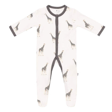 Snap Footie in Giraffe - Posh Tots Children's Boutique