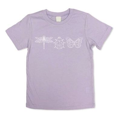 Ladybug Dragonfly Butterfly Sleeve Tee - Posh Tots Children's Boutique