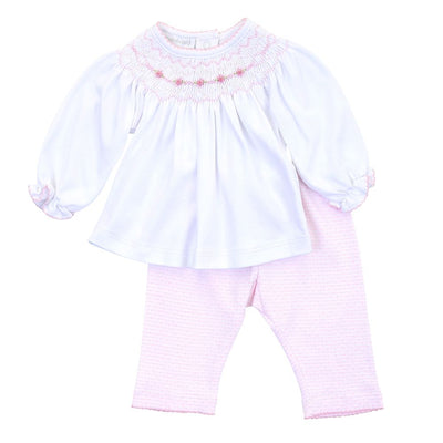 Maddy & Michael Bishop Pant Set, Pink - Posh Tots Children's Boutique