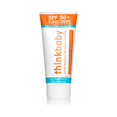 Thinkbaby Safe Sunscreen (6oz) - Family Size - Posh Tots Children's Boutique