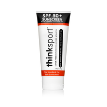 Load image into Gallery viewer, Thinksport Safe Sunscreen SPF 50+ (6oz) - Family Size - Posh Tots Children's Boutique