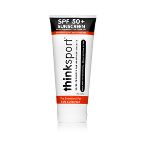 Thinksport Safe Sunscreen SPF 50+ (6oz) - Family Size - Posh Tots Children's Boutique