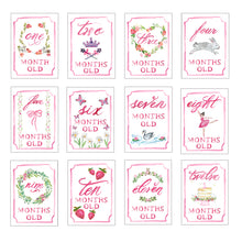 Load image into Gallery viewer, Month by Month Card Set - Posh Tots Children's Boutique