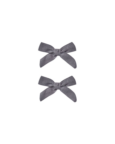 Bow Clip Set - Two Colors - Posh Tots Children's Boutique