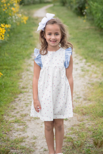 PRE ORDER Cherry Dress - Posh Tots Children's Boutique