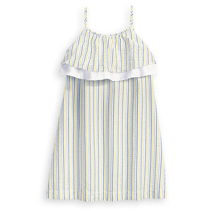 Stripe Sheridan Dress - Posh Tots Children's Boutique