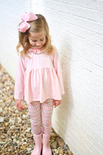 Load image into Gallery viewer, Sally Scalloped Legging Set - Posh Tots Children's Boutique