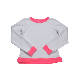 Selena Sweatshirt - White - Posh Tots Children's Boutique