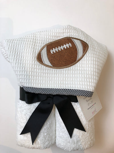EveryKid Towel - Football - Posh Tots Children's Boutique