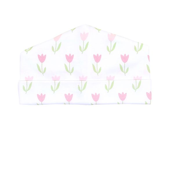 Tulips Print Hat - Posh Tots Children's Boutique