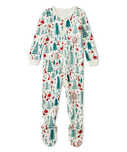 Forest Fest Footed Pajamas