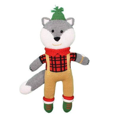 Wesley the Wolf - Posh Tots Children's Boutique