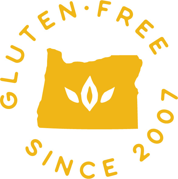 gluten-free since 2007 badge