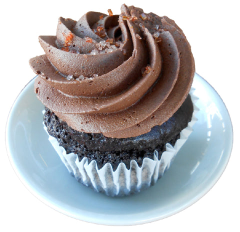 chocolate cayenne cupcake