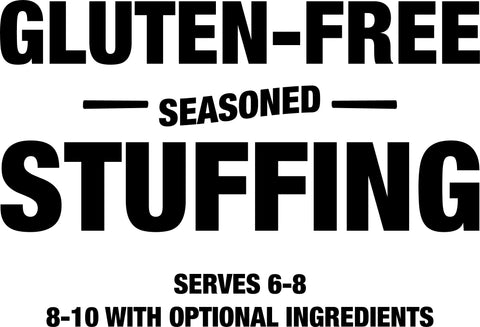 Gluten-free seasoned stuffing mix