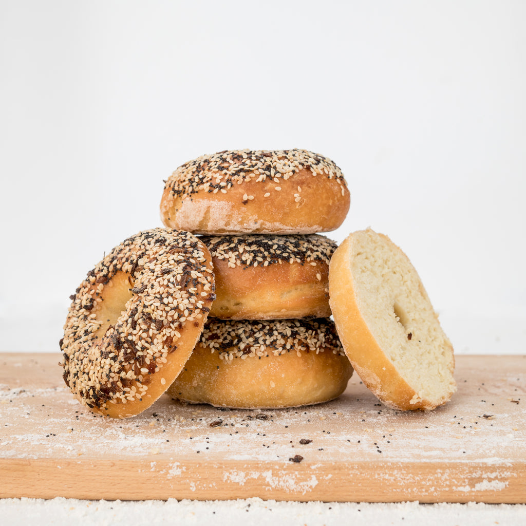 gluten-free everything bagels