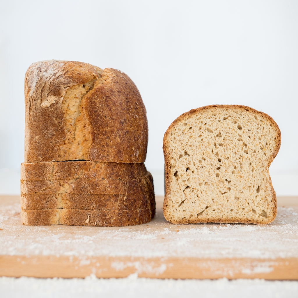 gluten-free honey gold sandwich bread