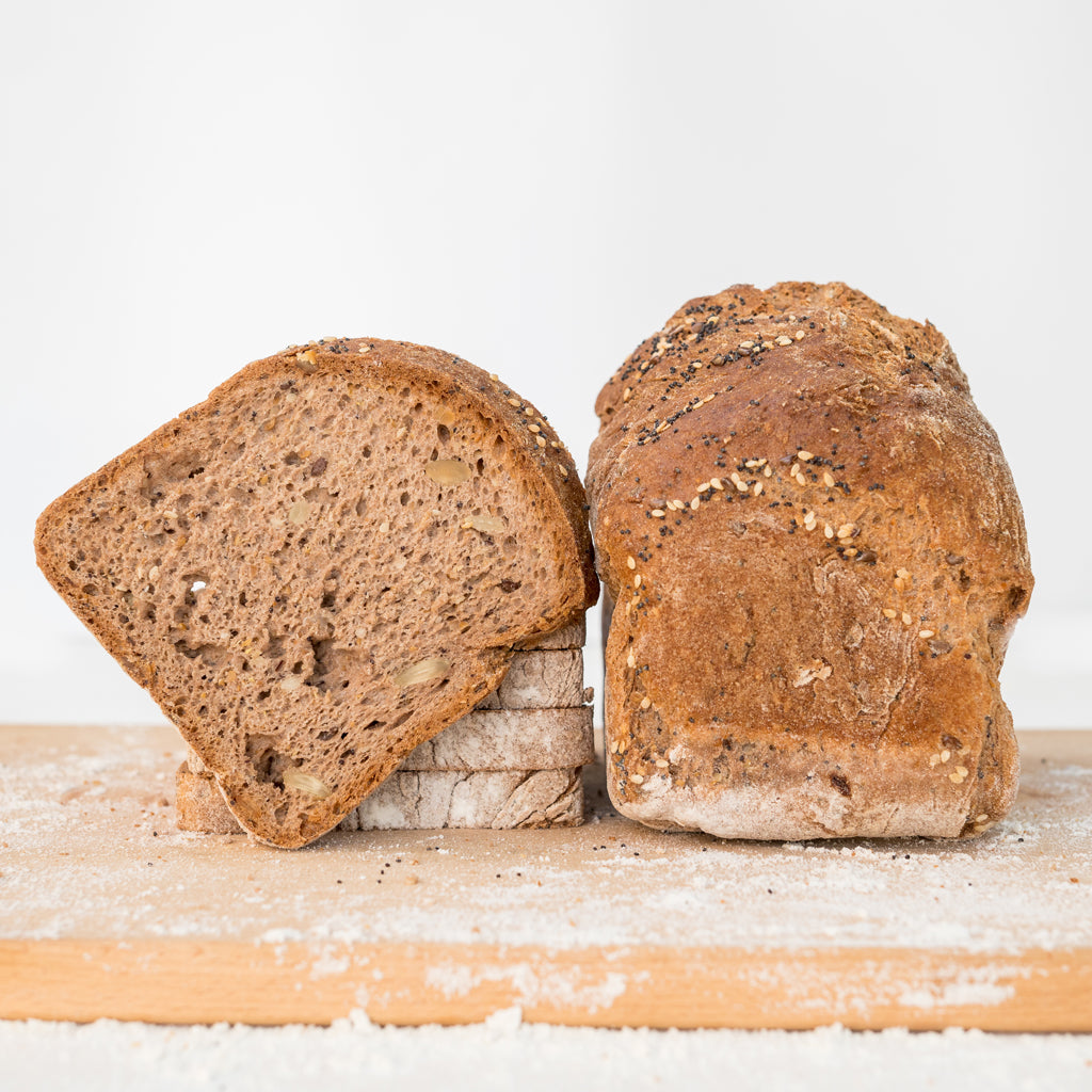 gluten-free seeded sandwich bread