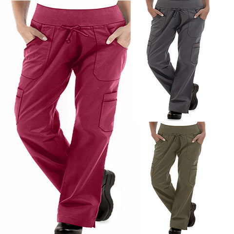 Women's Low Rise STRETCH Yoga Chef Pants