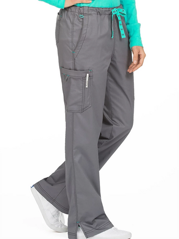 Eco-fridendly Straight drawstring pants