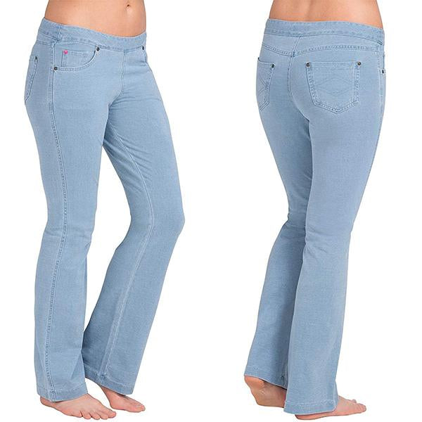 Comfy Soft Bootcut Stretch Denim Jeans