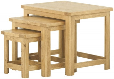 Nest of Tables - oak