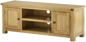 Large TV Cabinet - oak