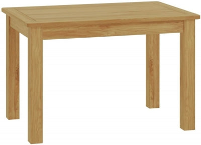 Fixed Top Dining Table - oak