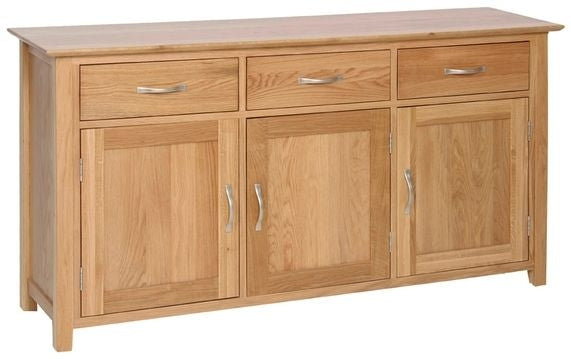 Contemporary Oak LARGE SIDEBOARD