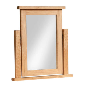 Chunky Oak DRESSING TABLE MIRROR