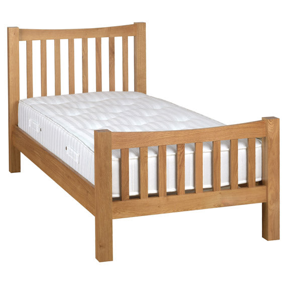 Chunky Oak 3' H.E BED