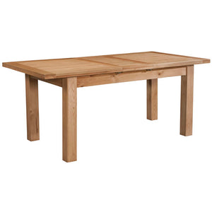 DINING TABLE WITH 1 EXTENSION 120-153 X 80