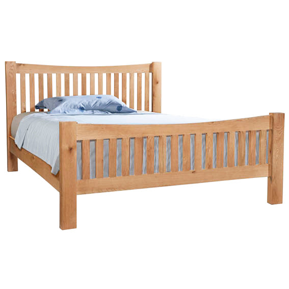 Chunky Oak 5' H.E BED