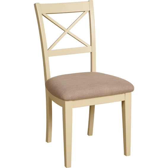 Painted Lounge  CROSS BACK DINING CHAIR