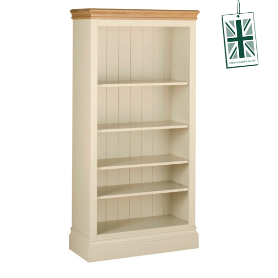 Painted Lounge  5' BOOKCASE